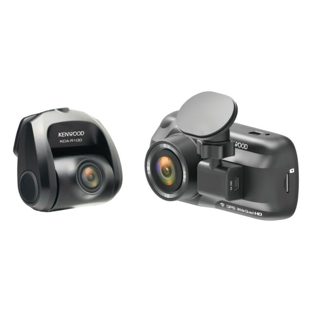 Kenwood DRV-A501WDP GPS Integrated Dual Dashboard Camera