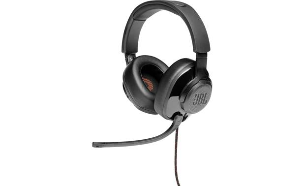 JBL Quantum 300 Over-ear wired gaming headset with virtual surround sound processing