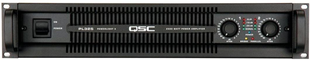 QSC PL325: Power Amplifier Powerlight 3 Series