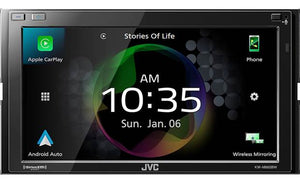 "KW-M865BW JVC:6.8"" Digital Media Receiver"