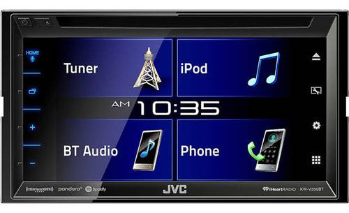 KW-V350BT JVC:DVD Receiver With Built-In Bluetooth