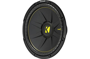 "44CWCS154 Kicker:15"" Subwoofer SVC 4 ohm CompC Series (also available in Dual VC)"