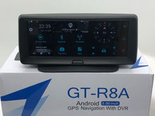 12VOLT GT-R8A  Touch Screen Car Android 5.0 DVR Dash Cam Wifi GPS Navigation 3G Bluetooth FM