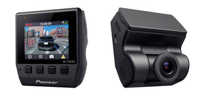 Pioneer ND-DVR100 Low profile Full HD Dash Camera with a 114° ultra-wide viewing angle.