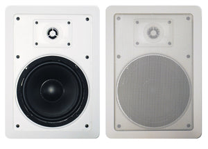 "PA265IW Precision Acoustics:6.5"" Speaker 2 Way In Wall (pair)"