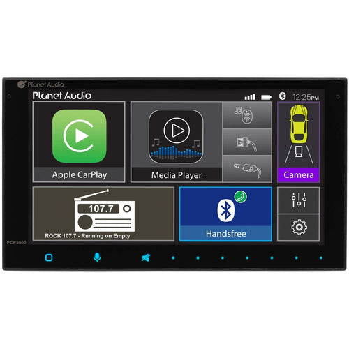 PCP9800 Plant Audio:2DIN Media Receiver W/6.75