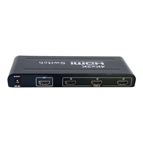 AZ 16-6831AA:HDMI 4K Switcher 3IN1OUT W/Remote