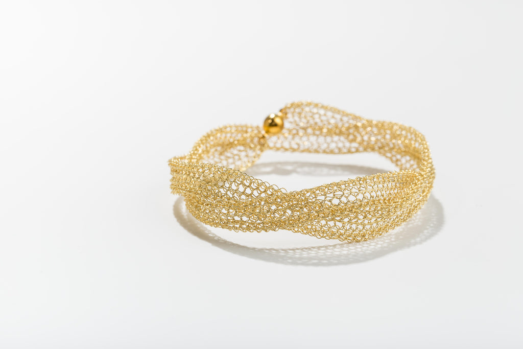 Poesy yellow bracelet/necklace