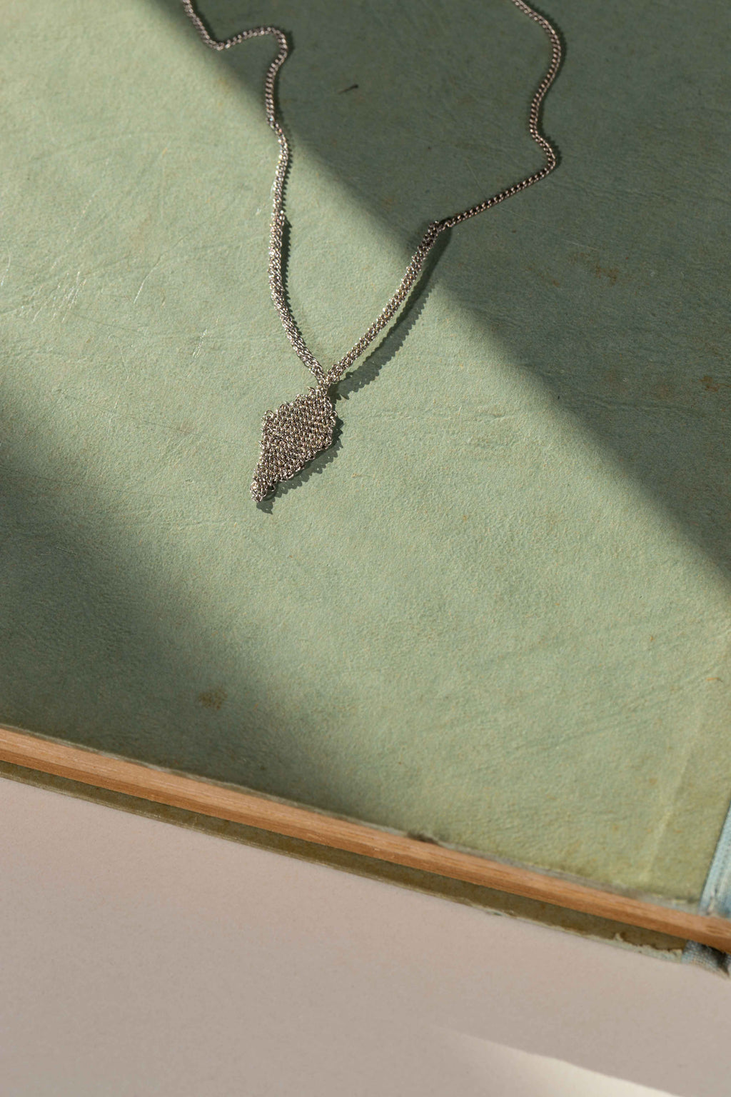 Dreams leaf necklace