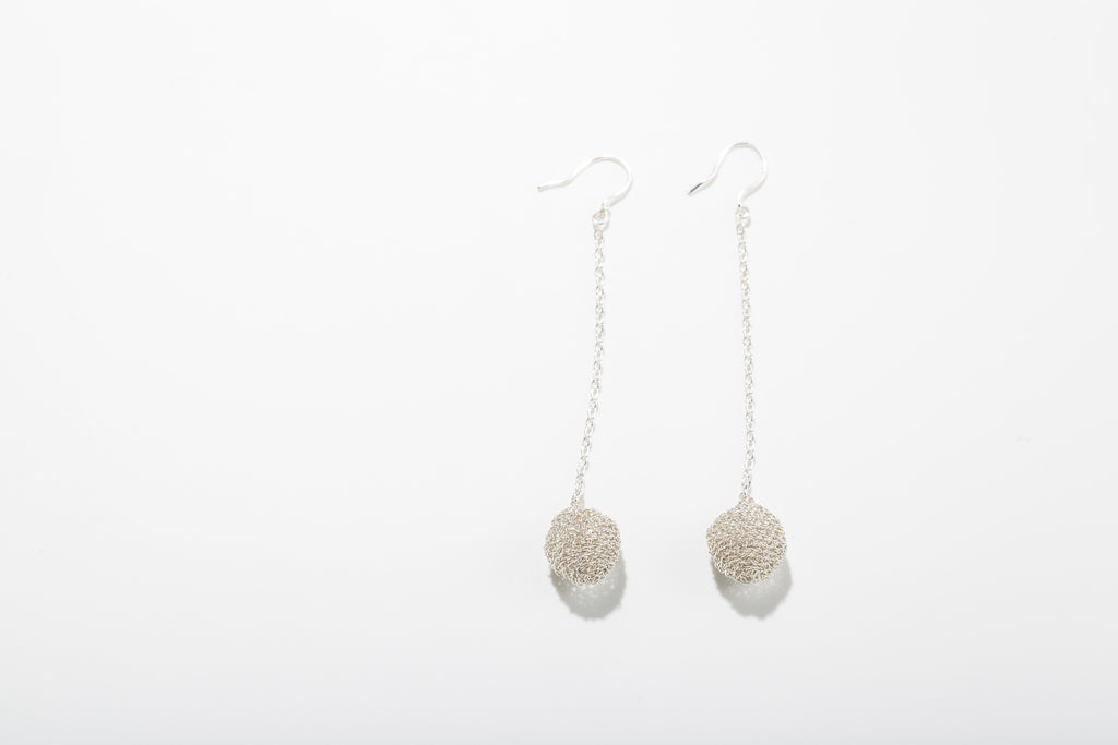 Poesy balls earrings