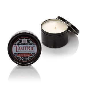 Tantric Soy Massage Candle with Pheromones 4 Oz.