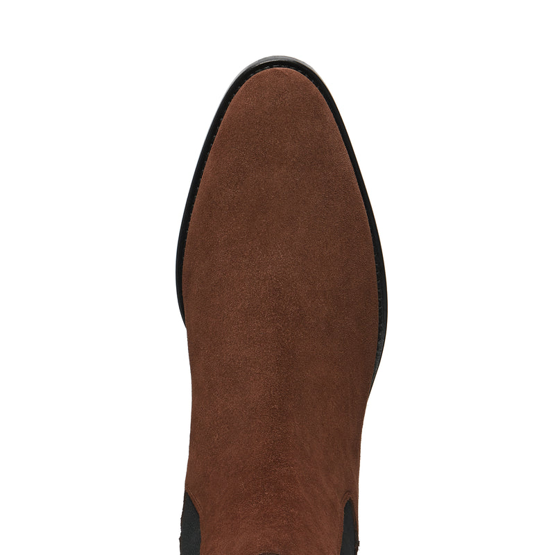 Marco 40mm Chelsea Boot - Espresso Suede