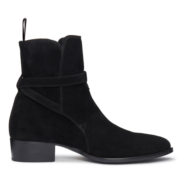 Giorgio 40mm Jodhpur Boot - Black Suede
