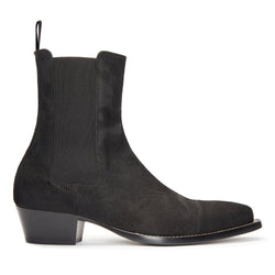 Paolo 45mm Chelsea Boot - Black Pony Hair