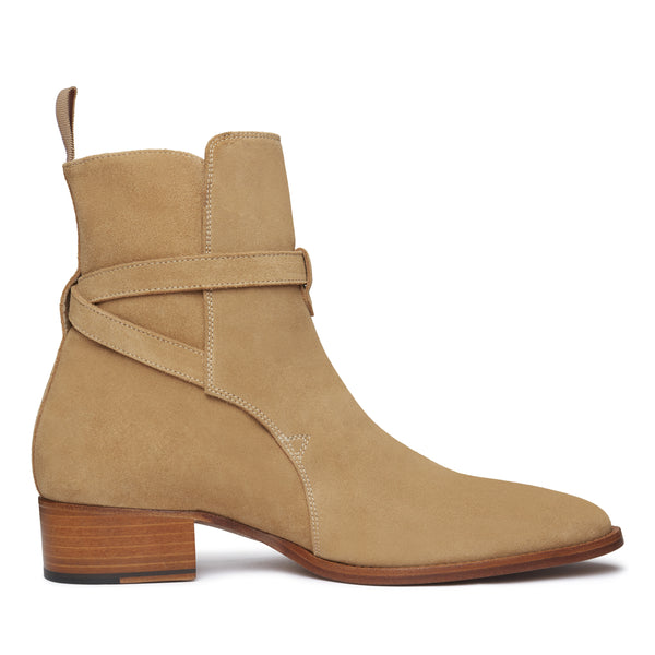 Giorgio 40mm Jodhpur Boot - Lion Suede