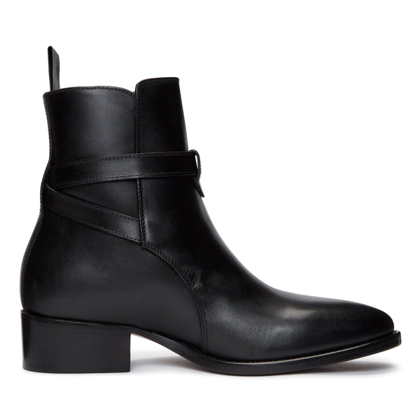 Womens Giulia 40mm Jodhpur Boot - Black Leather