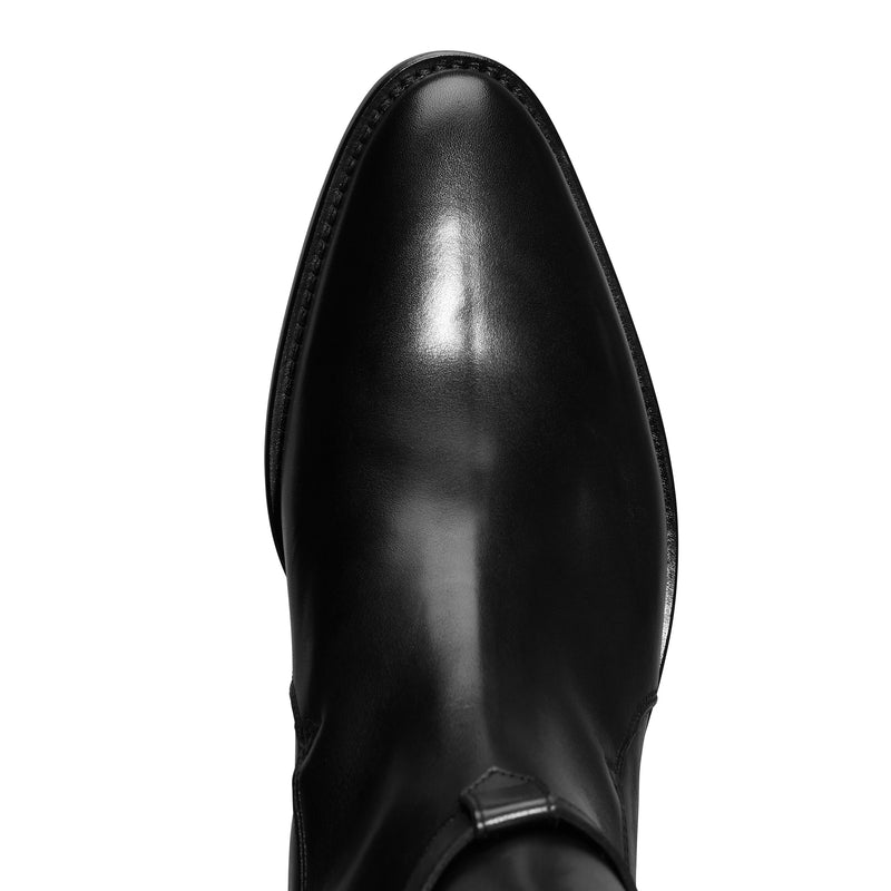 Giorgio 40mm Jodhpur Boot - Black Leather