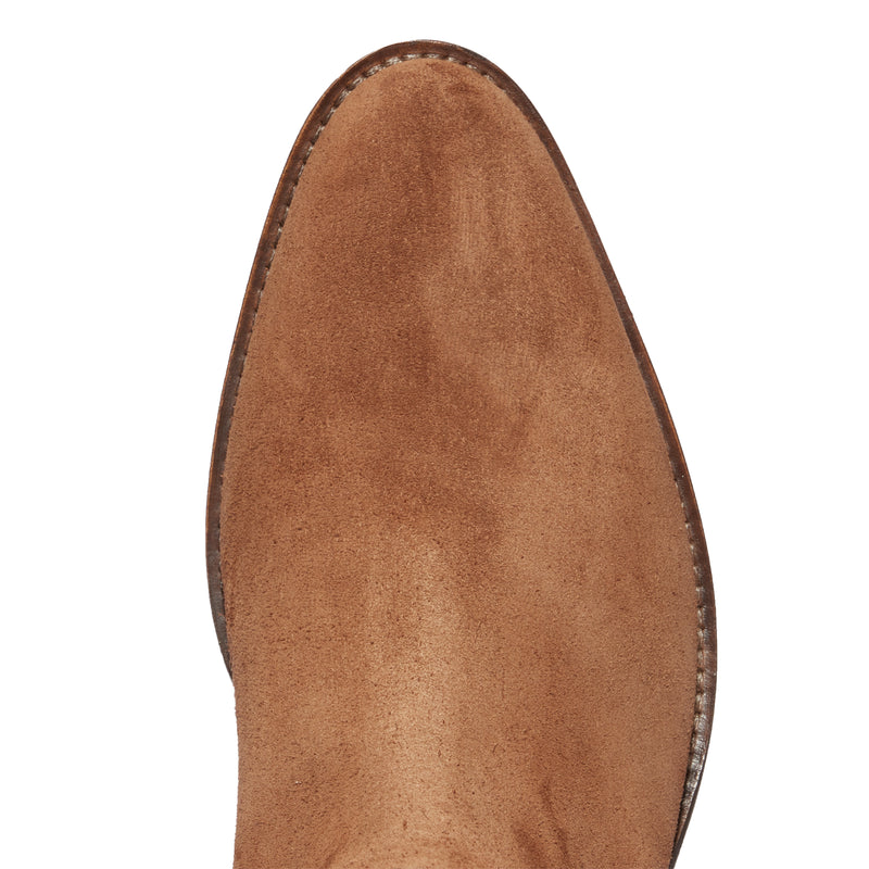 Marco 40mm Chelsea Boot - Tobacco Suede