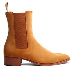 Marco 40mm Chelsea Boot - Camel Suede