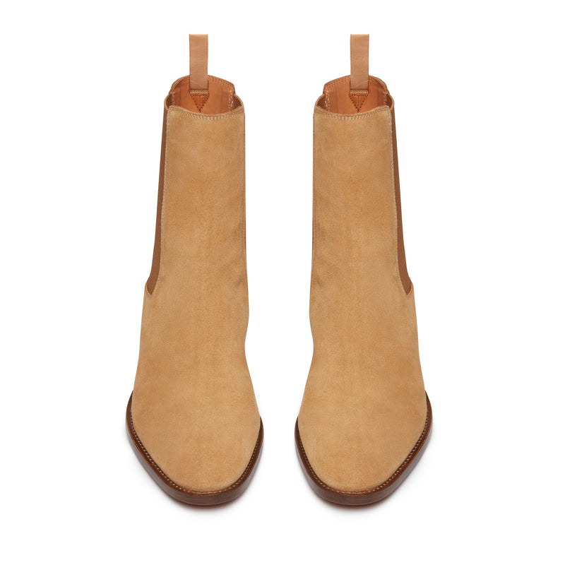 Marco 40mm Chelsea Boot - Lion Suede