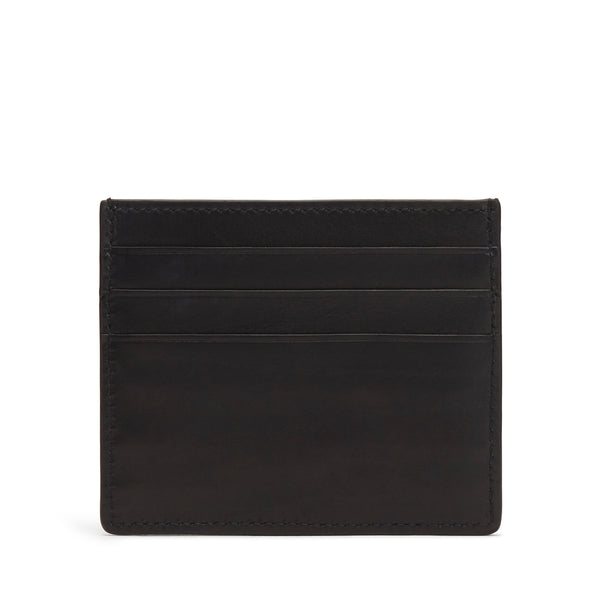 Card Holder - Black Leather