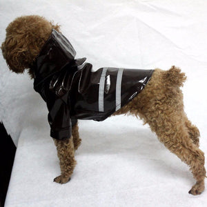 Reflective Raincoat for Small Pups - Fur Pants