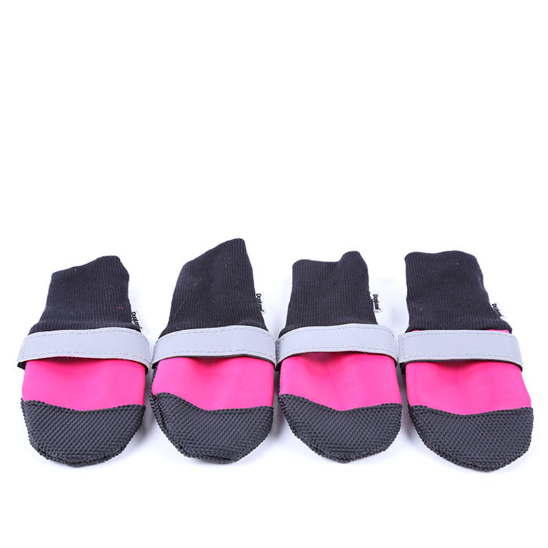 Colorful Waterproof Shoes - Fur Pants