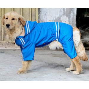 Sporty Waterproof Tracksuit - Fur Pants