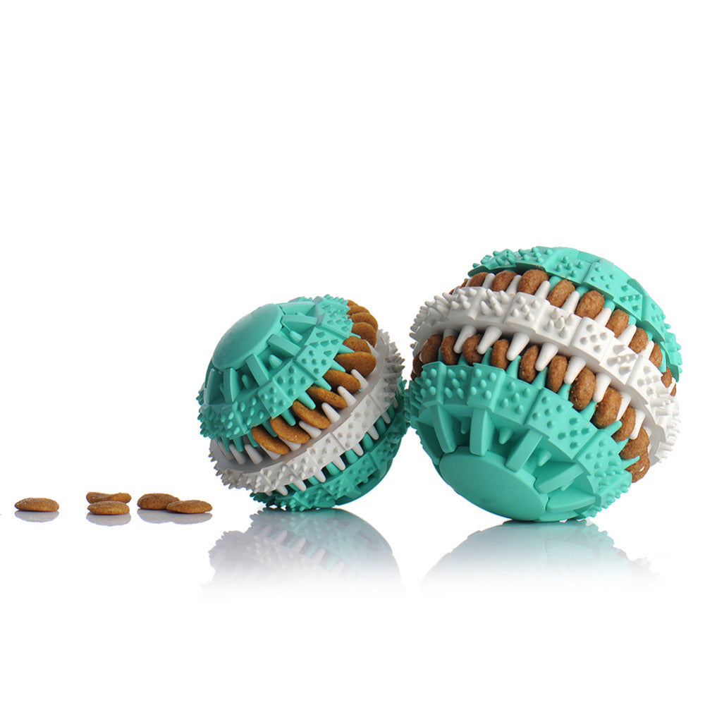 Toy Ball Treat Puzzle - Fur Pants