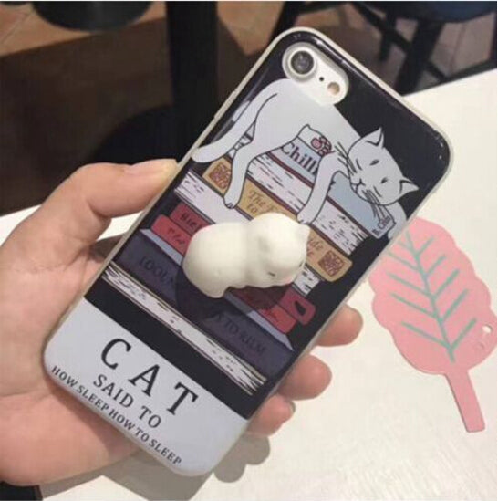 Squishy Kitty Phone Case - Fur Pants