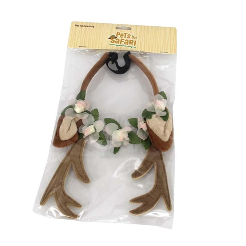 Holiday Reindeer Headband - Fur Pants
