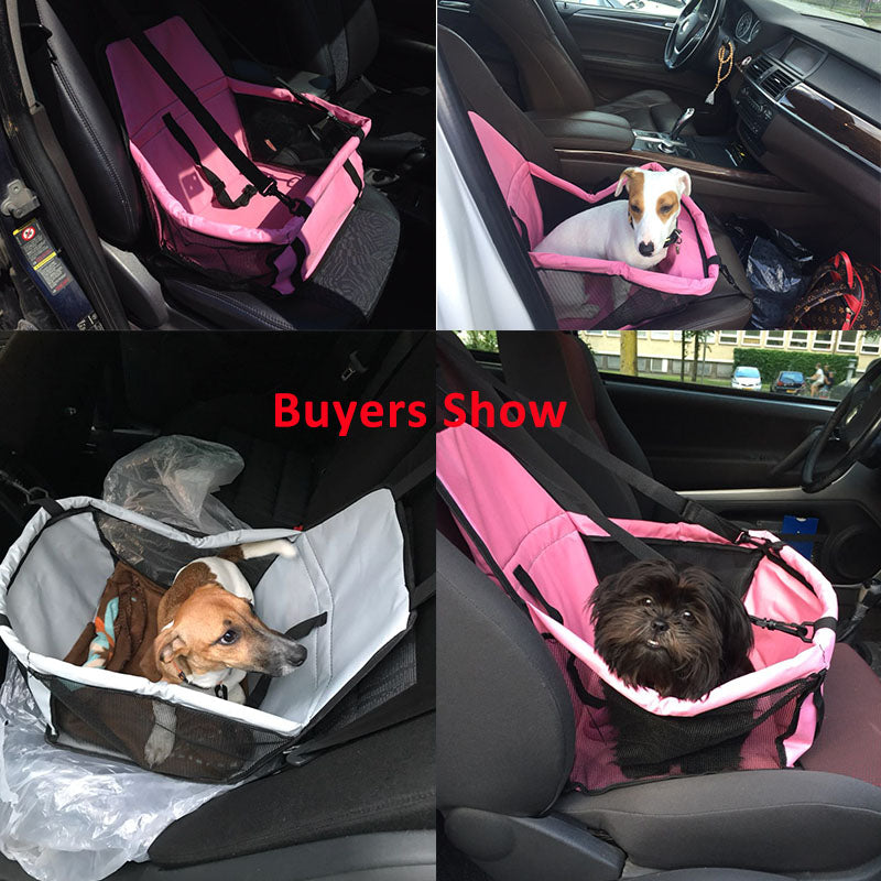 Convertible Car Seat for Dogs - Fur Pants
