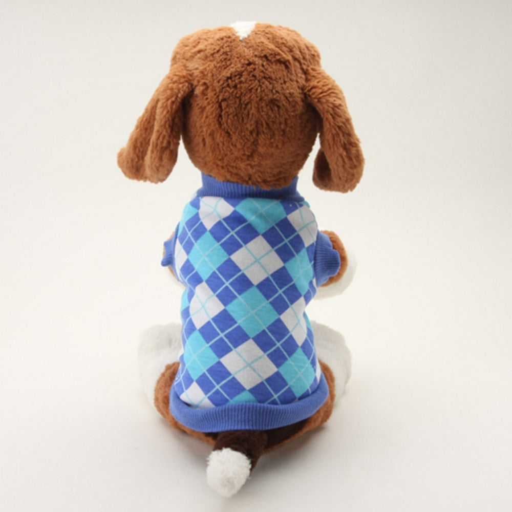 Plaid Sweater for Dogs/Cats - Fur Pants