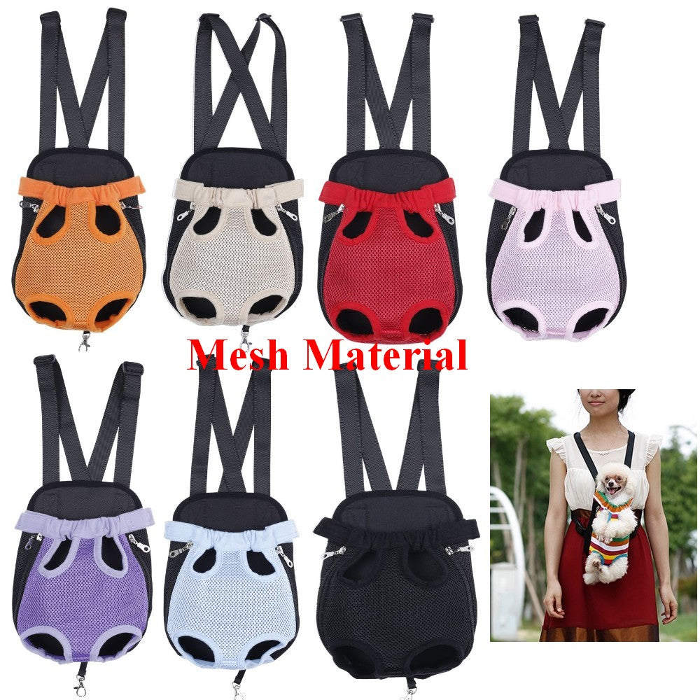 Pet Carrier Backpack - Fur Pants