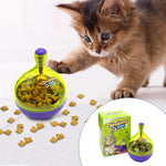 IQ Treat Ball: Interactive Treat Dispenser for Smarter Cats and Kittens