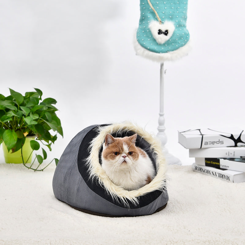 Chic and Soft Pet Nest - Fur Pants