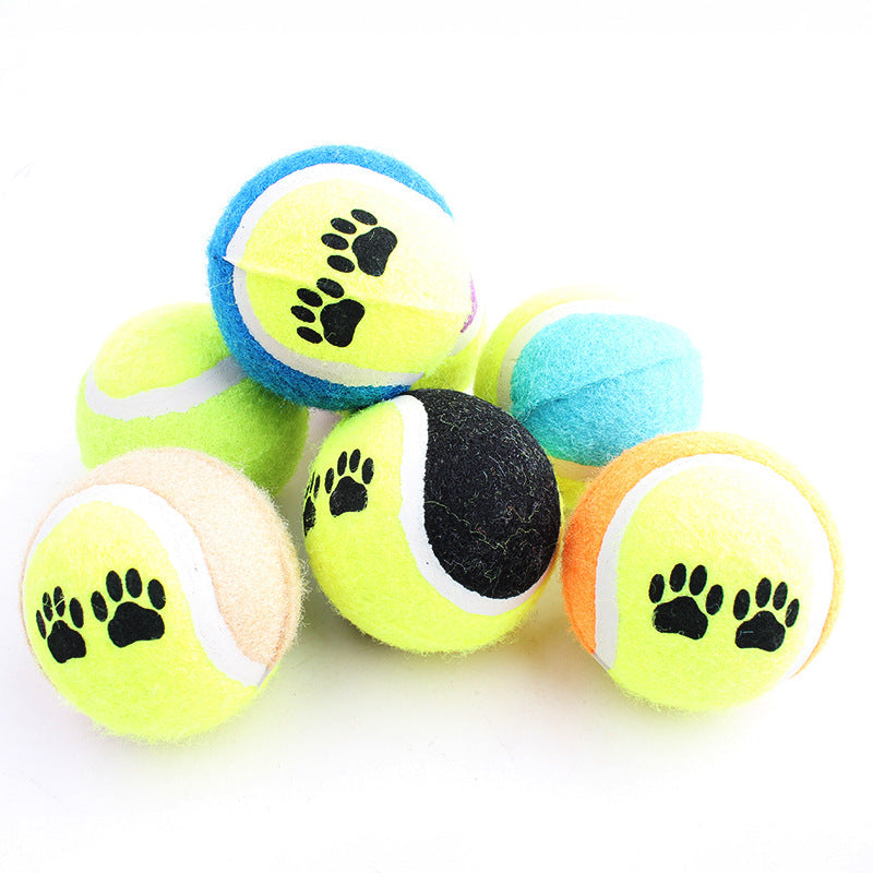 Paw Print Tennis Balls - Fur Pants