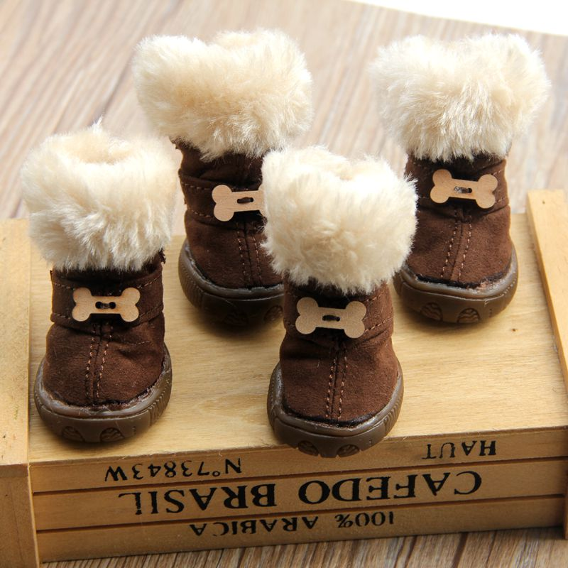 Fur Lined Winter Boots - Fur Pants