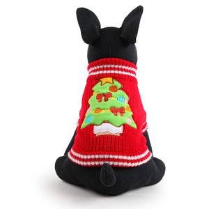Holiday Dog Sweater - Fur Pants