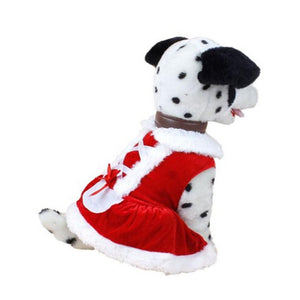 Santa Dog/ Cat Costume - Fur Pants