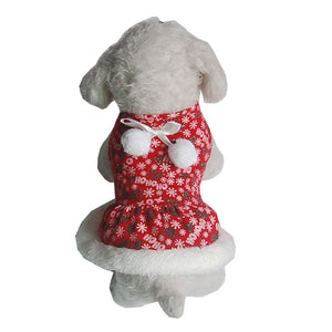 Holiday Dress for Small Dogs/Cats - Fur Pants
