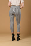 Gingham Double Zip Jeggings