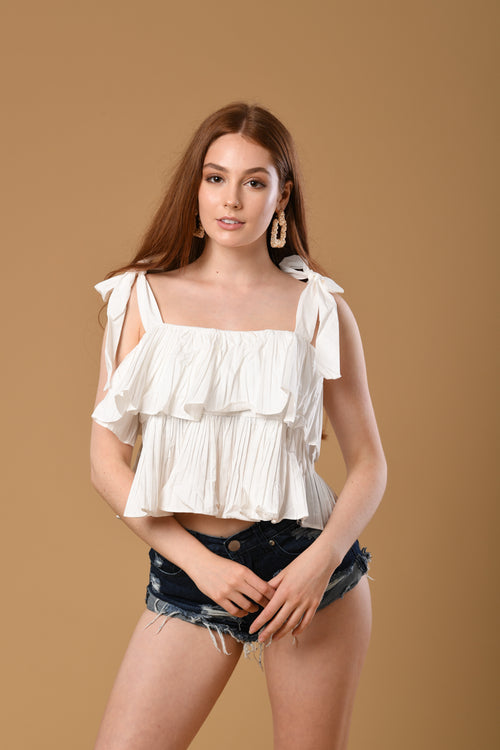 Lilo Ruffled Top