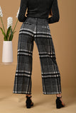 Checkered Wool Pants