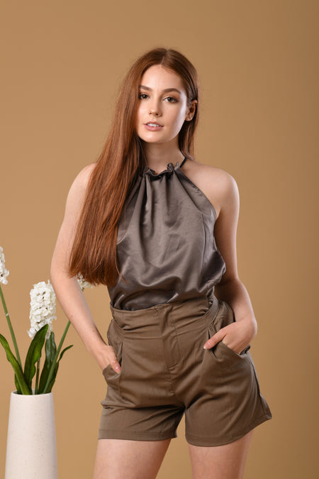 Detachable Bow Shirt