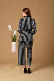 Stripe Pyjamas-Look Set