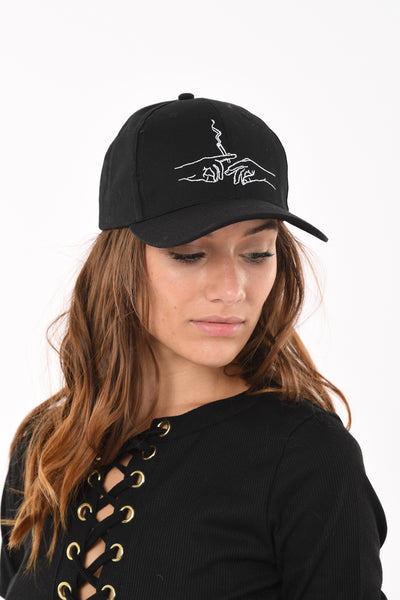Smoke up Hat In Black