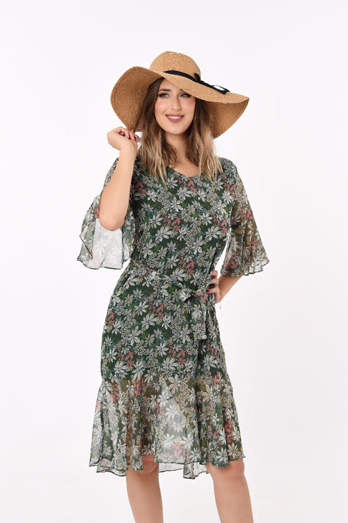 Melissa Mid-length Floral Dress