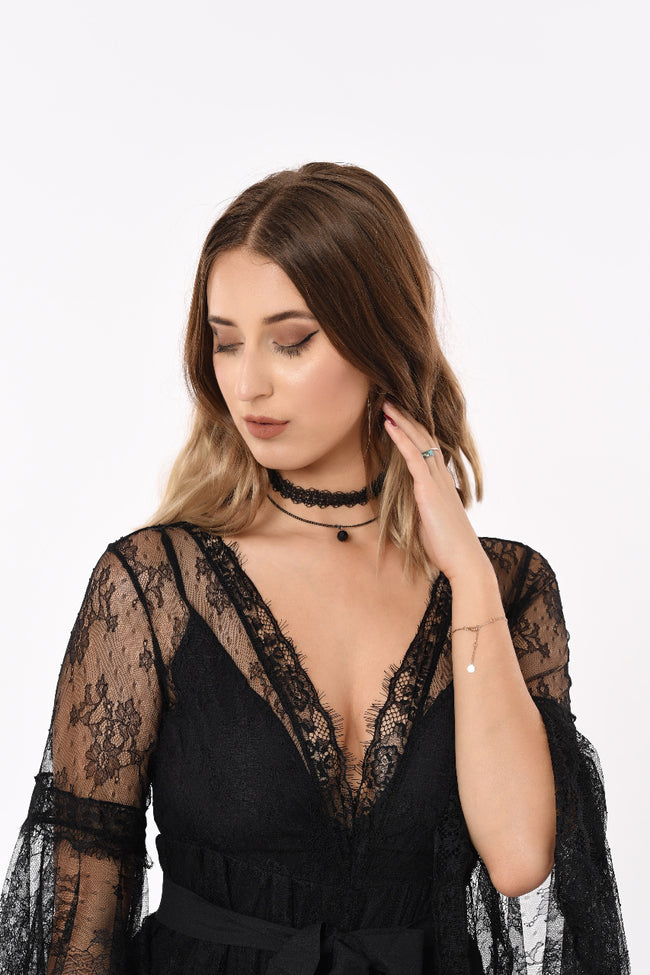 Kaia Double Loop Choker