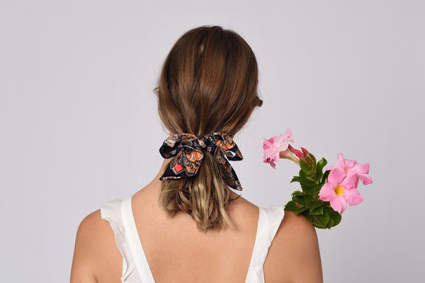 Roselle Dual Hairband Loose Ribbon